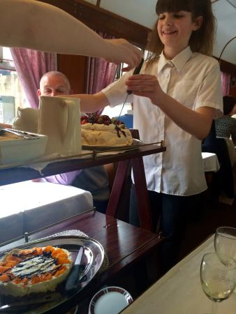 Peak Rail: Choice of 3 desserts