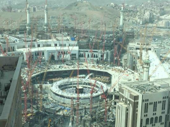 View From Room Window Picture Of Swissotel Makkah Mecca Tripadvisor