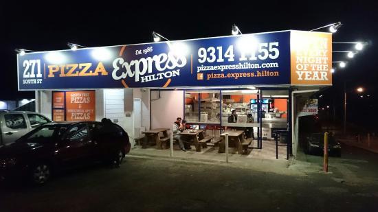 Pizza Express Perth 190 Carrington Street Hilton