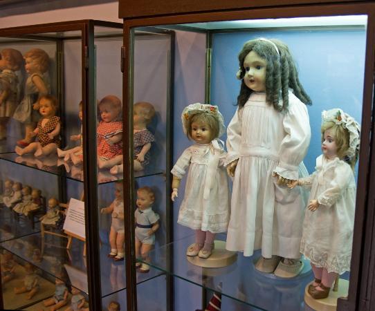 Castell-Platja d'Aro, Spain: в музее кукол
