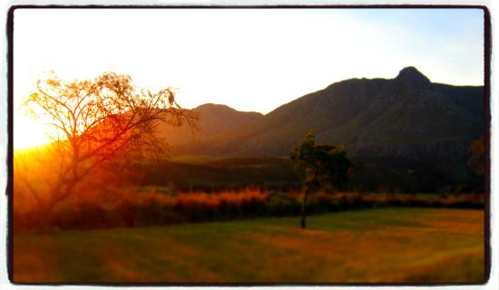 Swellendam Golf Course: No.4 Sunset