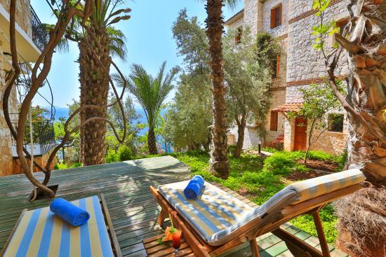 Villa Hotel Tamara: BALAYI SUİT TERAS