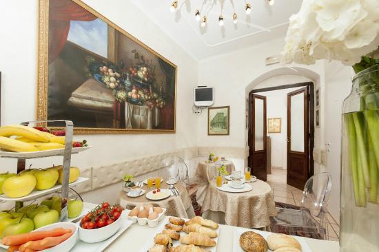 Residenza Zanardelli: sala colazioni