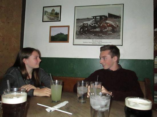 Fiddler's Hearth Public House: Our two grandkids at Fiddlers Hearth
