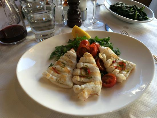 Mediterraneo: Grilled calamari