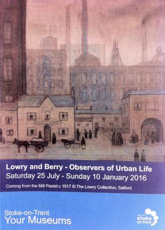 Lowry and Berry : Observers of Urban Life at Potteries Museum and Art Gallery