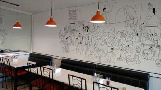 wall art ... - Picture of TREAT - Purely Punjabi, Bengaluru ...