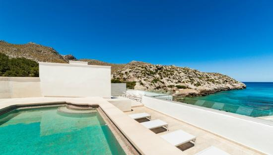 Hoposa Niu Hotel: Bran new roof top pool with terrace and sea view