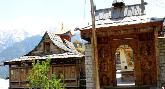 Kamru Fort : Kamru Temple Gate