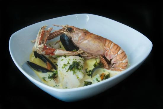 Hay's Dock Cafe Restaurant: Luxury seafood chowder