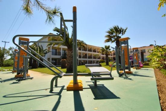 Park Hotel: gym