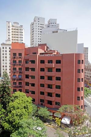 San Michel Hotel: Fachada