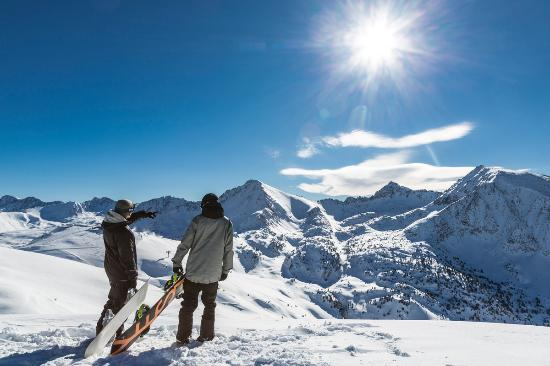 Andorra: Grandvalira, Snowboard