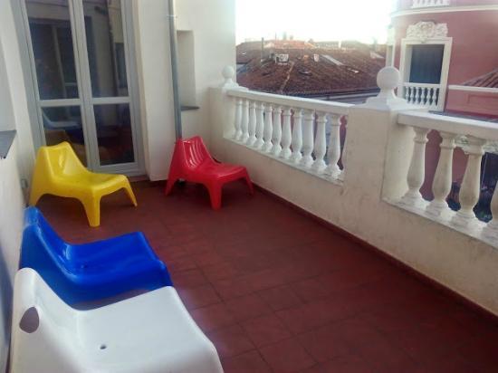 Terraza Arriba Del Todo Picture Of Room007 Chueca Hostel