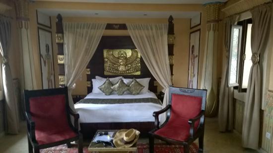 Hotel Temple des Arts: Cleopatra bedroom