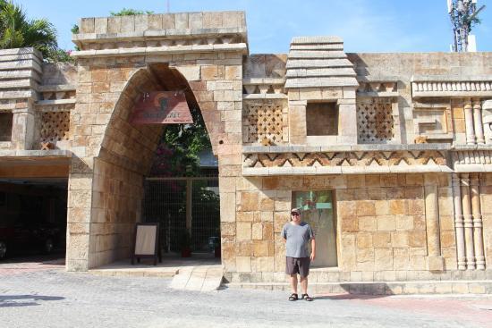 Hotel Posada Sian Ka'an: Entrance to hotel