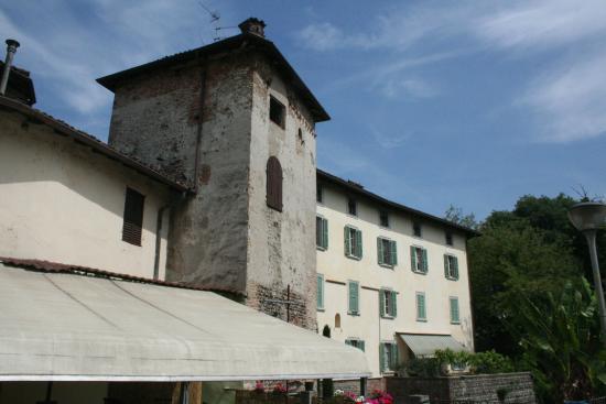 Martinengo, Italie : facciata