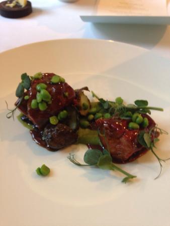 The lamb's neck in the Taste of Spring menu - 21/5/15