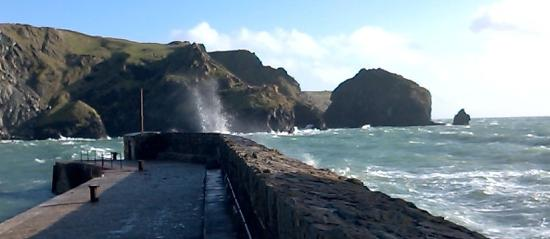 Franchis Holiday Park: Mullion Cove just a few short miles from Franchis