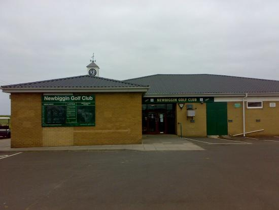 Newbiggin-by-the-Sea, UK: Club house