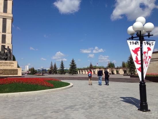 Victory Park  memorial complex: 21/5/2015