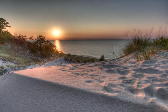 Indiana Dunes Sunset