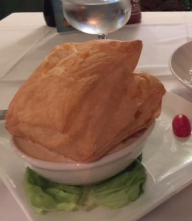 Turquoise Restaurant The Seafood Pot Pie Was Smooth And Creamy Decadence Topped With A