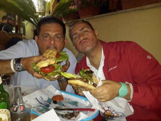 Il Maresciallo: fantastico panino con un carissimo amico