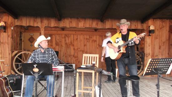 country musik på western camp.. altid hyggeligt..