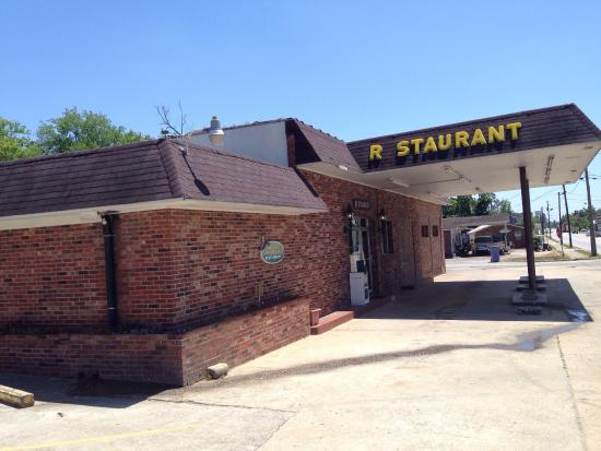 Peggy's: Doesn't look like much on the outside, but good southern cooking inside.