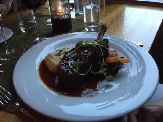 Quality Hotel Dalecarlia: En god middag!