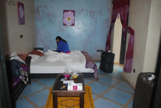 Riad L'Orchidee: Chambre avec salon privé