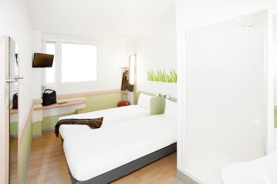 Ibis Budget Madrid Centro Las Ventas : Habitación cama matrimonio