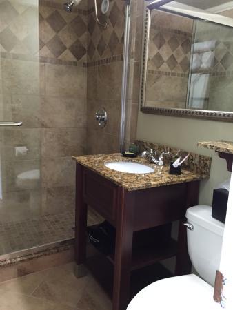 BEST WESTERN Plus Mark Motor Hotel : Bathroom