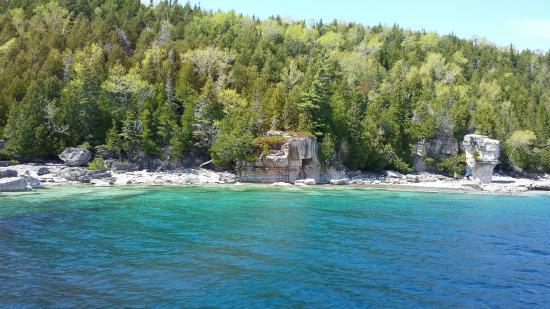 Tobermory, Kanada: Flowerpot Island