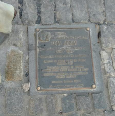 Estatua de Tom Jobim