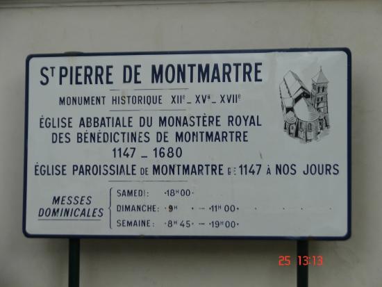 Parigi, Francia: placa de idenficação