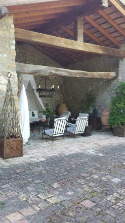 Can Serola: Another outdoor lounge area