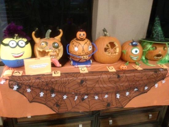 Holiday Inn Express Saugus (Logan Airport): Holiday Inn Saugus Halloween Spread 1