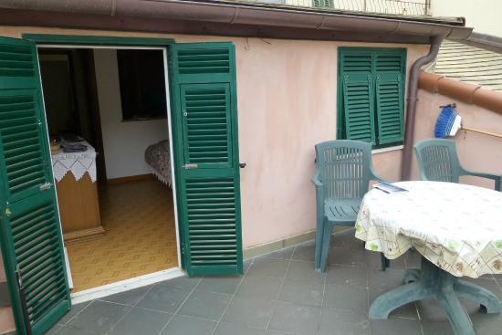 Rosa Camere : apt #4 terrace