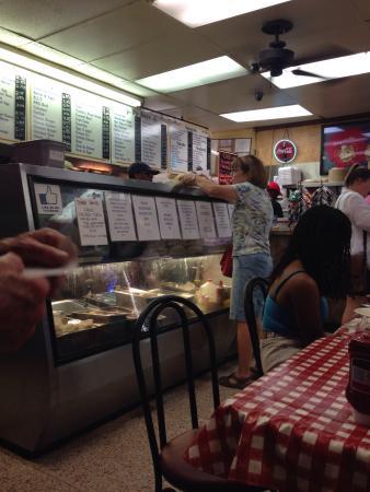 Johnny's Po-Boys: Seafood gumbo & Alligator sausage!!!!