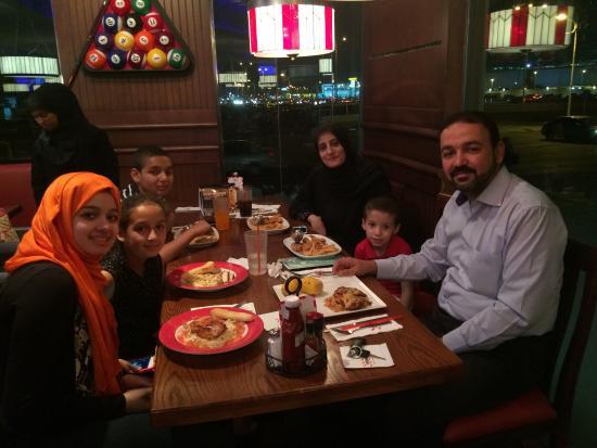 TGI Fridays Happy Family