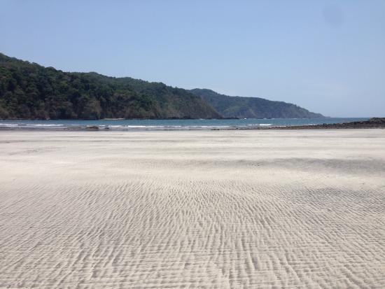 Camino del Sol: Playa restinge