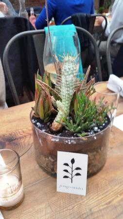 Lucas Confectionery: Table decoration