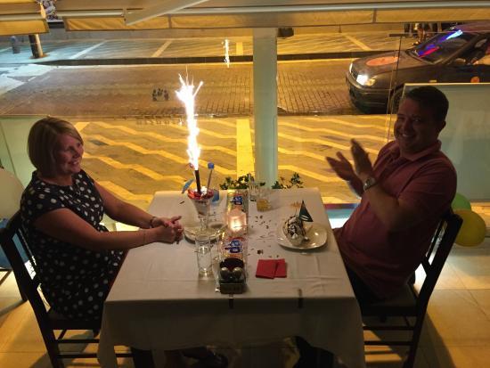 Paladela: Above and beyond for Sarah's birthday