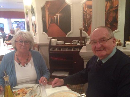 Giuliano's: 2 happy customers!!! Excellent!