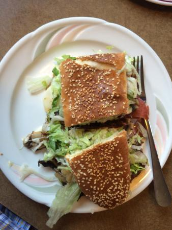 Bob's Submarine Sandwiches: Half of the Super-Sub... Delicious