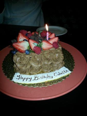 Zen Restaurant: My surprise birthday from the restaurant
