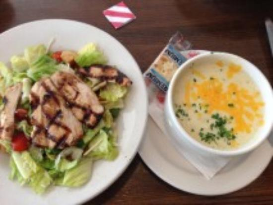 TGI Friday's: Grilled Chicken and Soup Combo