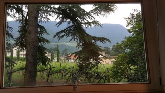 Hotel Juliane: Aussicht aus dem riesigen Wohnzimmerfenster